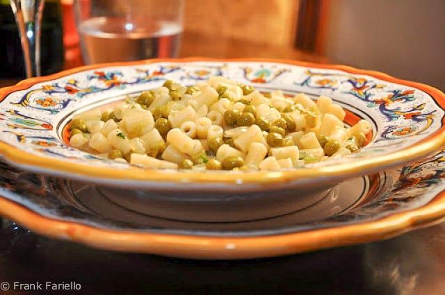 Pasta e piselli (Pasta and Peas)