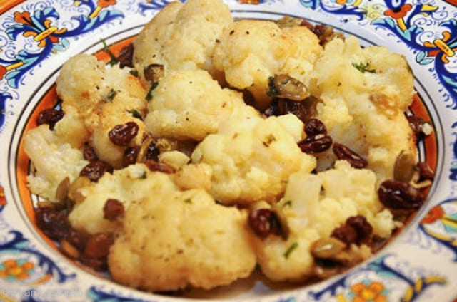 Neapolitan style cauliflower