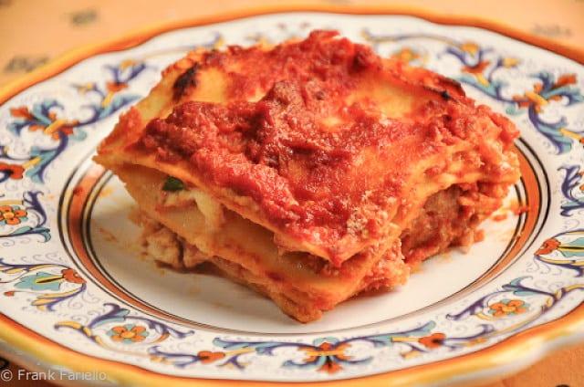 Lasagna di Carnevale (Angelina's Lasagna)