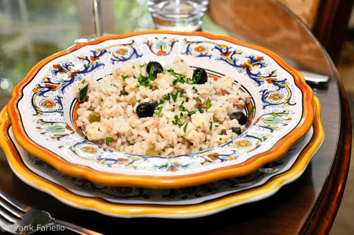 Italian Tuna Rice Salad