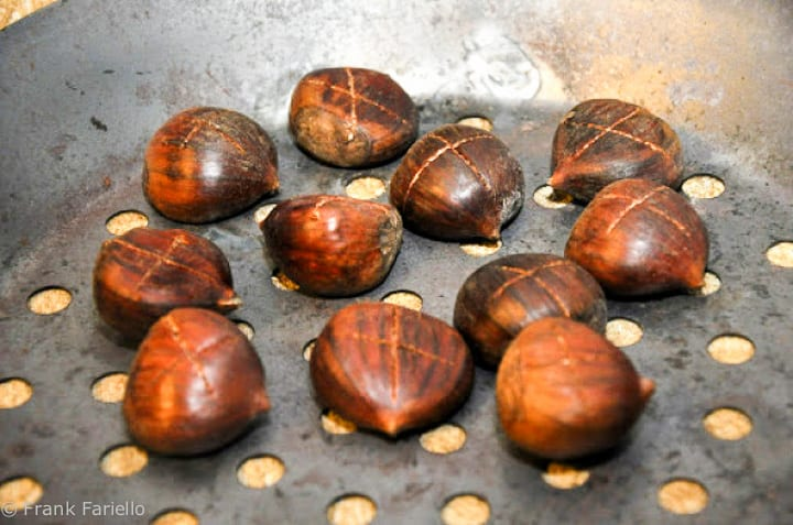 How to Roast Chestnuts (pan)