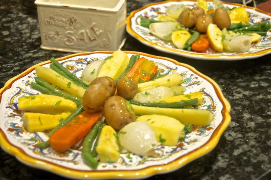 Mixed Boiled Vegetables