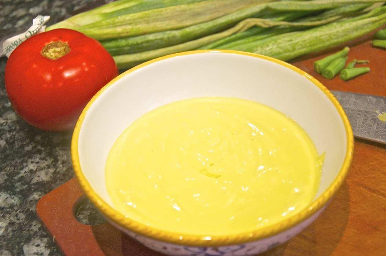 Homemade Mayonnaise, the Italian Way