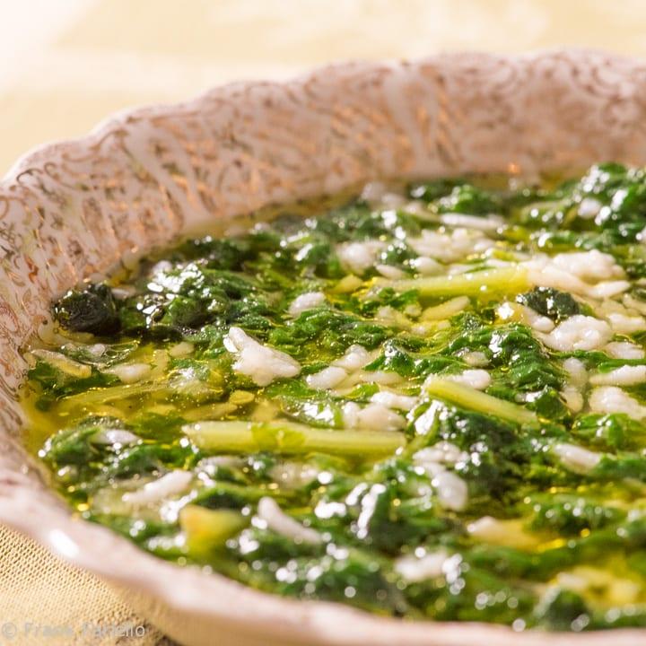 Cicoria e riso (Chicory and Rice Soup)