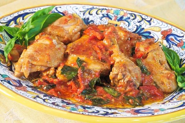 Pollo Allischitana Ischia Style Chicken Memorie Di Angelina