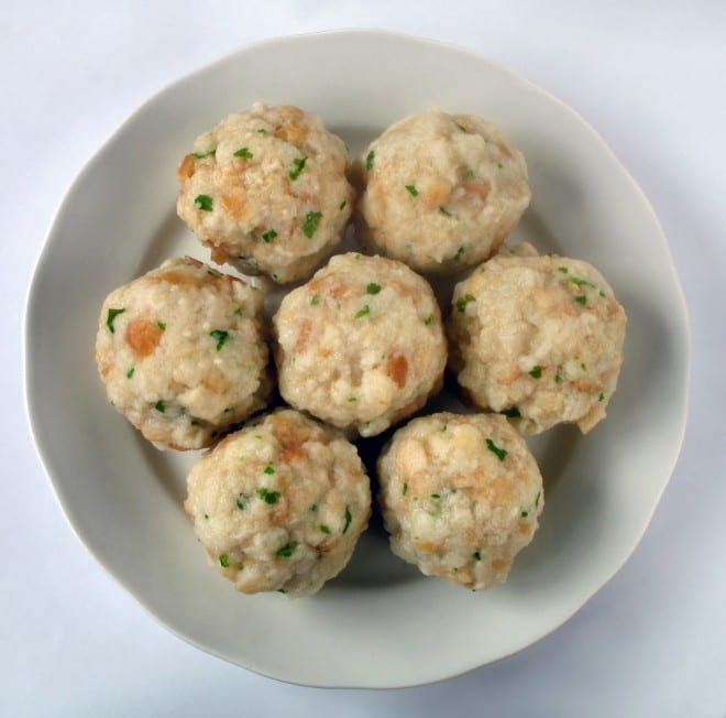 Tyrollean Bread Dumplings