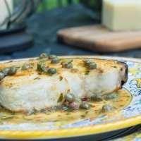 Pesce spada con capperi alla calabrese (Calabrian Swordfish with Capers)