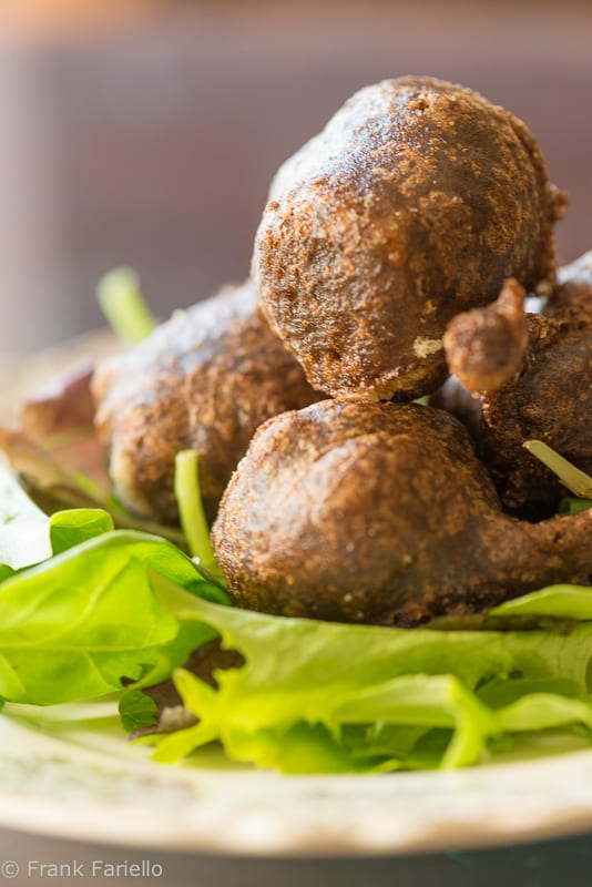 Sciatt (Buckwheat Cheese Fritters)