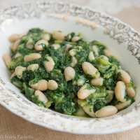 Cicoria e fagioli (Chicory and Beans)