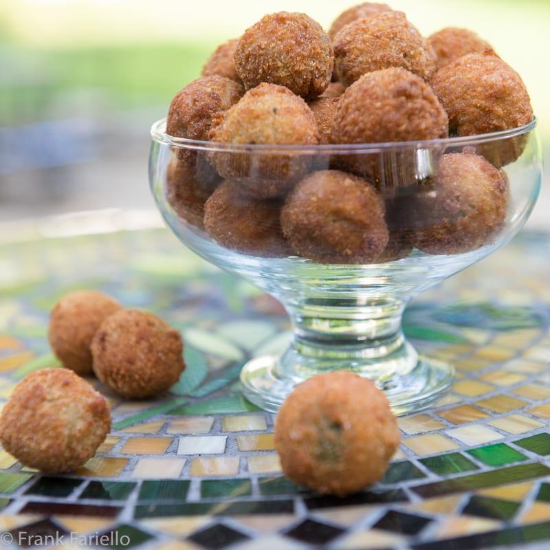 Olive ascolane (Ascoli Style Stuffed Olives)