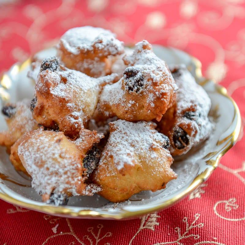 Fritole alla veneziana (Venetian Carnival Fritters)