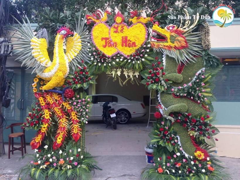 16998078 1842635039096172 4940419363299997211 n Đám cưới mà dựng cổng lá dừa, chưa bao giờ hết mốt vì quá xịn - Cổng cưới Miền Tây | Craft Gifts Shop, decor design, quà tặng trang trí handmade
