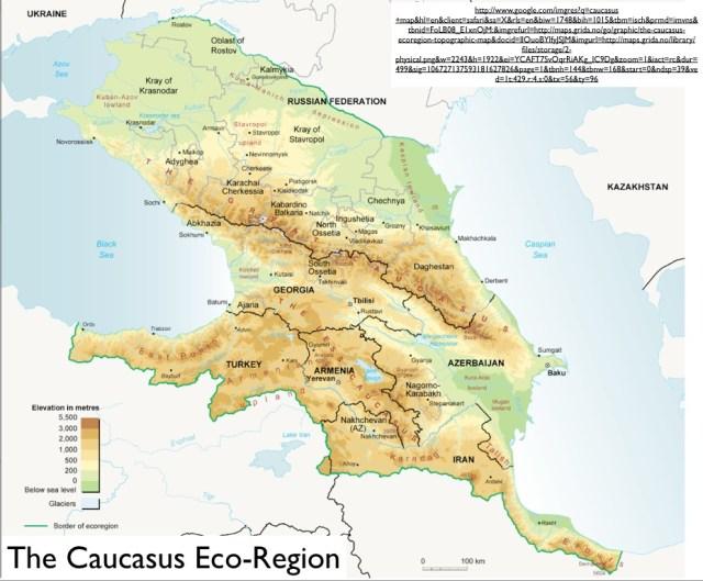 Caucasus_Eco-Region_Map