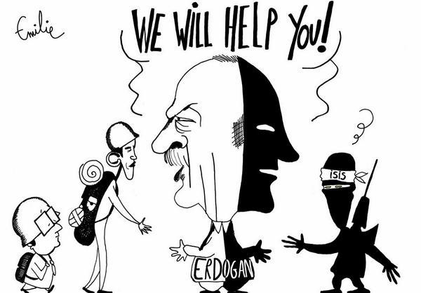 antierdogan cartoon