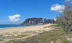Beautiful Burleigh Heads beach