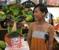 Vegetable lady