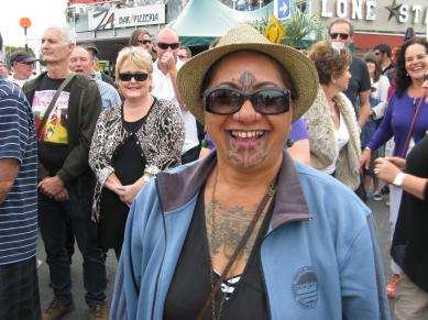 Maori lady, photo by Jack