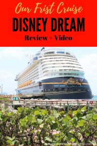 Disney Dream First Cruise