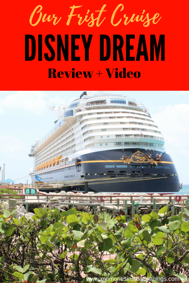 Disney Dream First Cruise