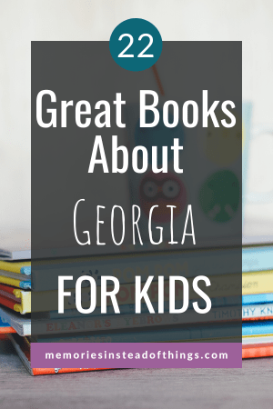 Books About GA for Kids Pin