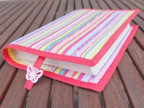 Memoro / Růžový proužek / Obal na knihu