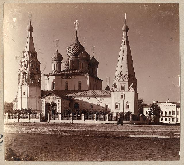 Church of the Prophet Elijah. Yaroslavl (c1910) (Photo: Sergei Mikhailovich Prokudin-Gorskii)