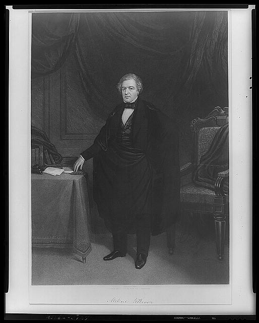 President Millard Fillmore, by John Sartain - Library of Congress