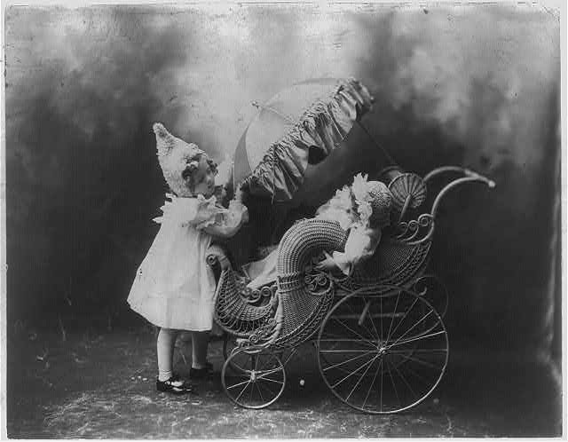 Baby journeyings c1900 Dec. 10. (Library of Congress)