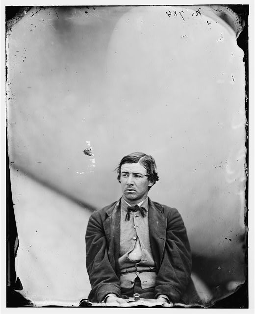 Washington Navy Yard, D.C. David E. Herold, a conspirator.  April 1865.  Alexander Gardner, photographer.