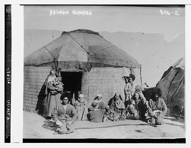 Afghan nomads (May 9, 1919)