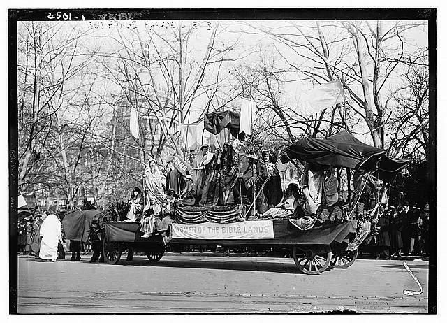 Suffrage Parade, Washington D.C. (1913) Library of Congress