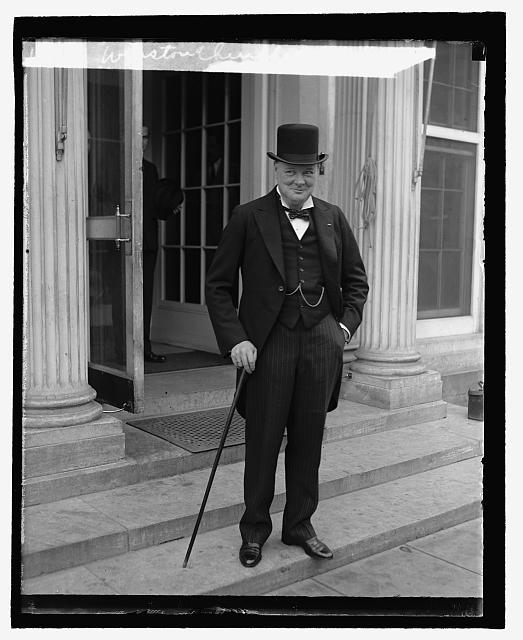 Winston Churchill, 1929 October 18.  (Library of Congress)