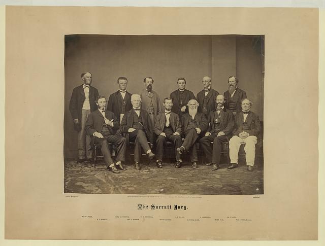 The Surratt jury.  J. Orville Johnson, photographer.  c. 1867