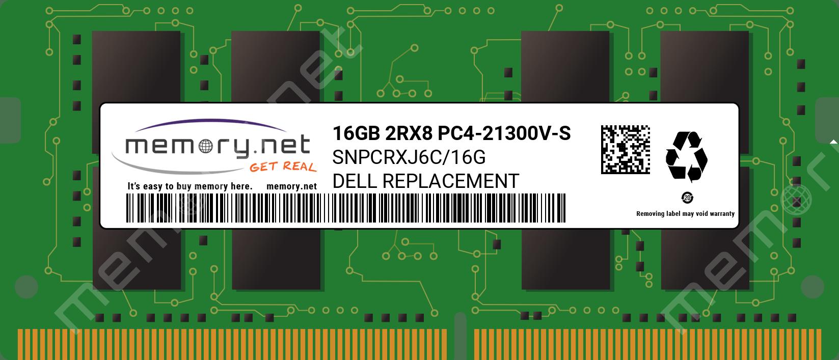 SNPCRXJ6C/16G