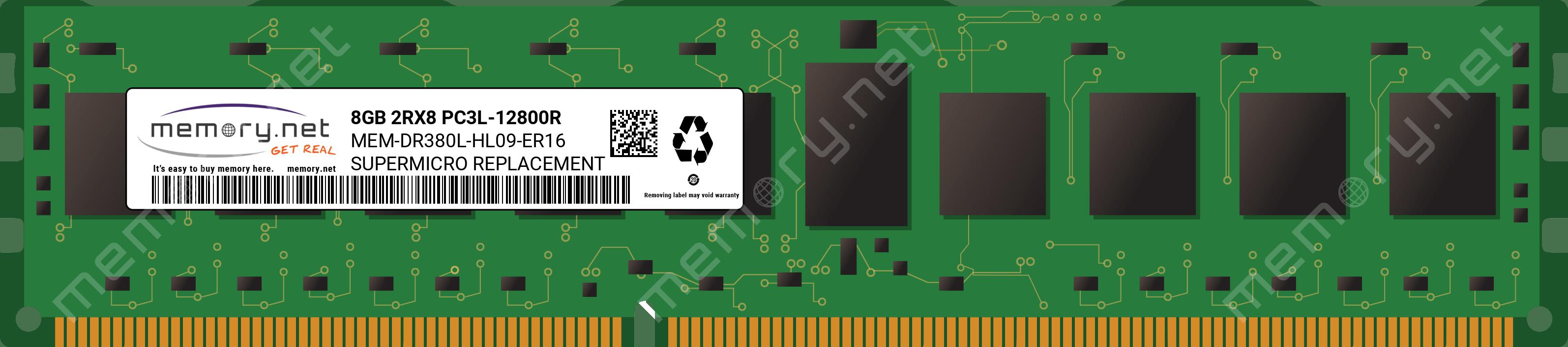Hynix HMT41GR7DFR8A-PB 8GB DDR3-1600 ECC REG