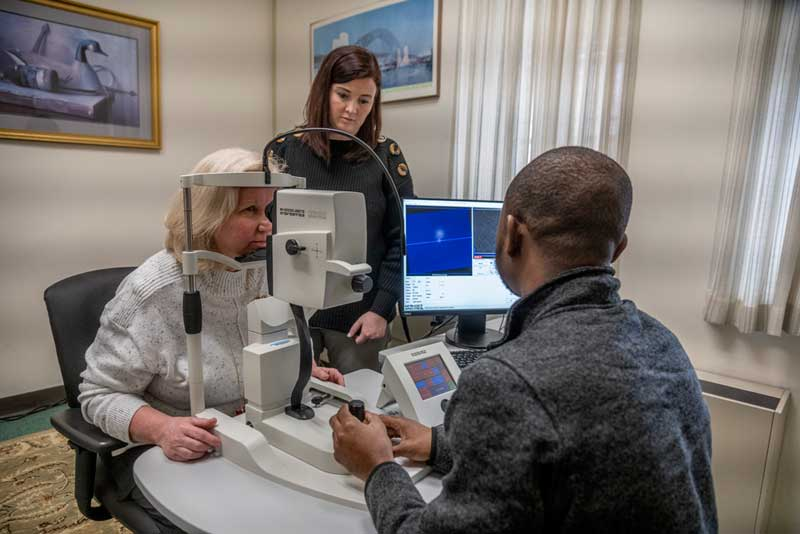 URI, BayCare and Butler Hospital to test retinal scanning for early detection of Alzheimer's disease