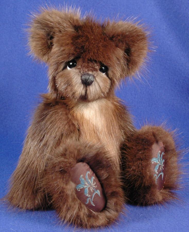 Mink Fur Coat Memory Bear