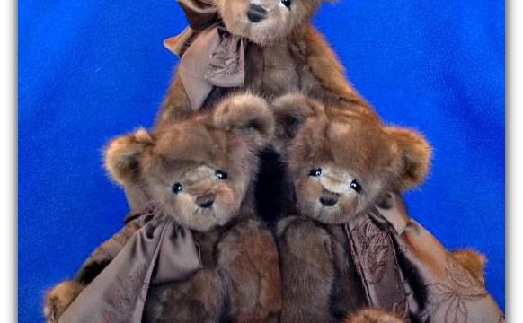 Turning a Beloved Mink Fur Coat into Three Memory Teddy Bears