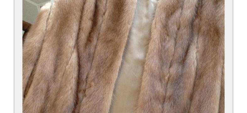 Turning a Mink Fur Vest into a Memory Teddy Bear