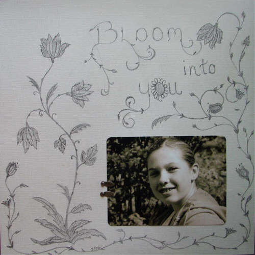 How To Doodle On Your Scrapbook Pages Memory Keeping Ideas