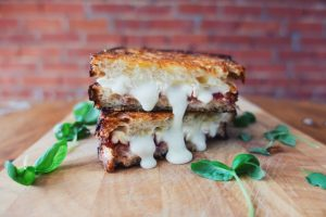Gourmet Sourdough Grilled Cheese