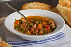 Kale, Sausage and Bean Soup