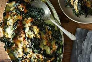 Lacinato Kale Gratin