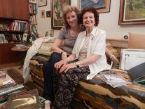 (Cernivci) Margit Bartfeld-Feller with daughter