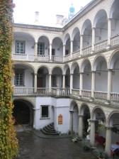 Lviv italienska gården 2009