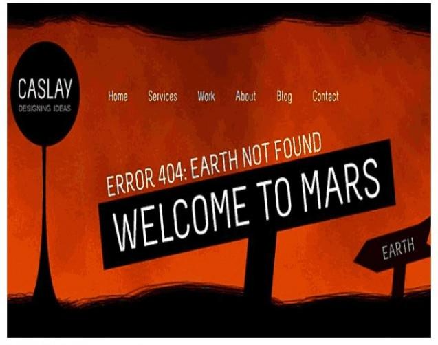 404 error page design 11