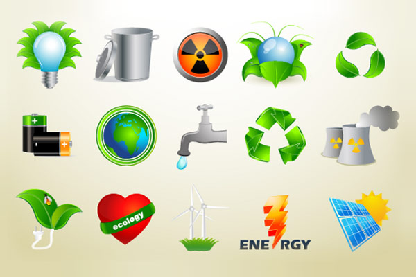 18-ecology-icon-set