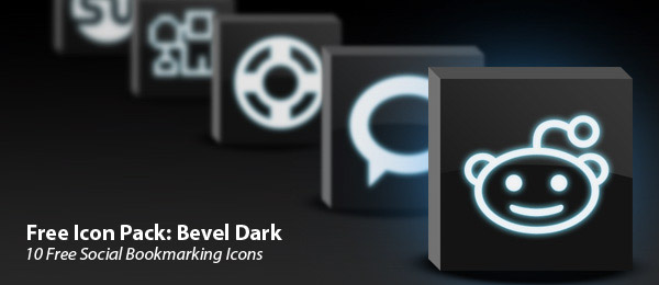 bevel-dark-icon-set