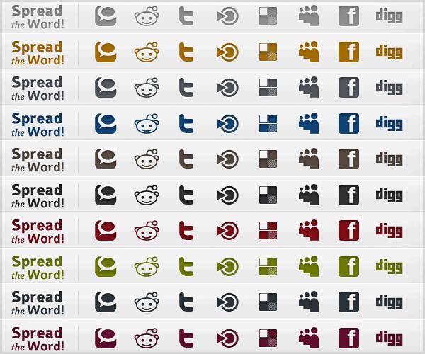 infocus-icon-set