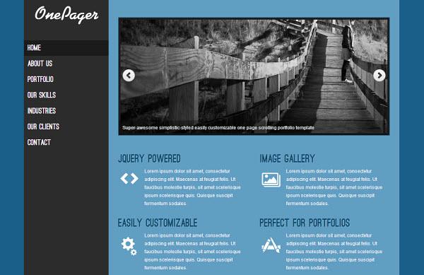 onepager-wordpress-theme